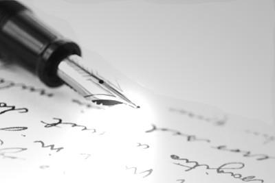Plume-écriture
